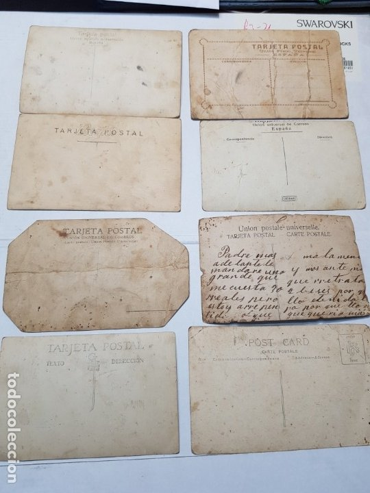 Fotografía antigua: Fotografía postal de Estudio lote 7 muy buenas - Foto 10 - 177203552
