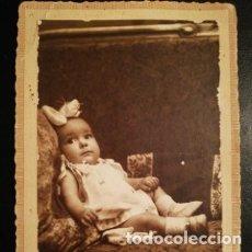 Fotografía antigua: RETRATO INFANTIL - TARJETA POSTAL UNIÓN POSTAL UNIVERSAL F.F.S.XIX Ó P.P.S.XX. Lote 177690667