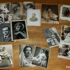 Fotografía antigua: LOTE 22 ANTIGUAS FOTOS. Lote 177794427