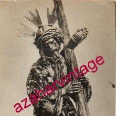 Fotografía antigua: SEMANA SANTA SEVILLA, ANTIQUISIMA POSTAL FOTOGRAFICA NTRO.PADRE JESUS DEL GRAN PODER. Lote 177882829