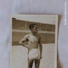 Fotografía antigua: FOTOGRAFIA EROTICA, JOVEN EN BAÑADOR, AÑOS 20. Lote 178024632