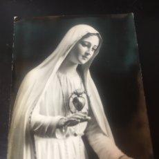 Fotografía antigua: FOTO POSTAL VIRGEN DE FATIMA - 1962. Lote 178093303