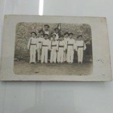 Fotografía antigua: TARJETA POSTAL PAIS VASCO TIPOS VASCOS DANTZARIS PP S.XX IKURRIÑA . Lote 178106147