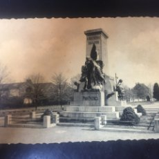Fotografía antigua: FOTO POSTAL MONUMENT AUX MORTS 1914- 1918 - MEDIDAS 5.5X3.5CM. Lote 178115328