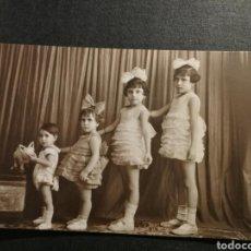 Fotografía antigua: TARJETA POSTAL 4 HERMANOS. Lote 178159763