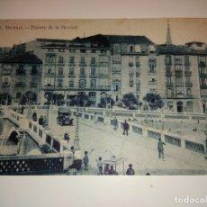Fotografía antigua: 11 POSTAL BILBAO PUENTE DE LA MERCED HAE VIZCAYA BIZKAIA PAIS VASCO. Lote 178244481
