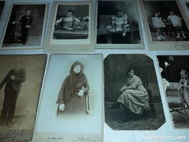 Fotografía antigua: Magnifico lote de 12 antiguas fotografías y Tarjetas Postales - Foto 3 - 178318348
