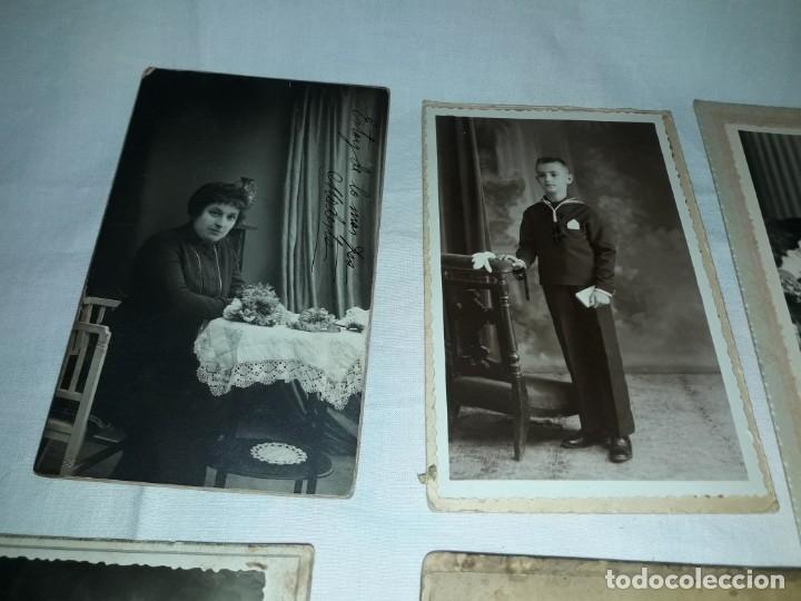 Fotografía antigua: Magnifico lote de 12 antiguas fotografías y Tarjetas Postales - Foto 5 - 178318348