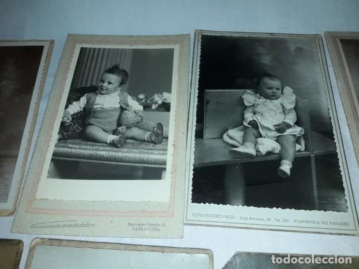 Fotografía antigua: Magnifico lote de 12 antiguas fotografías y Tarjetas Postales - Foto 6 - 178318348