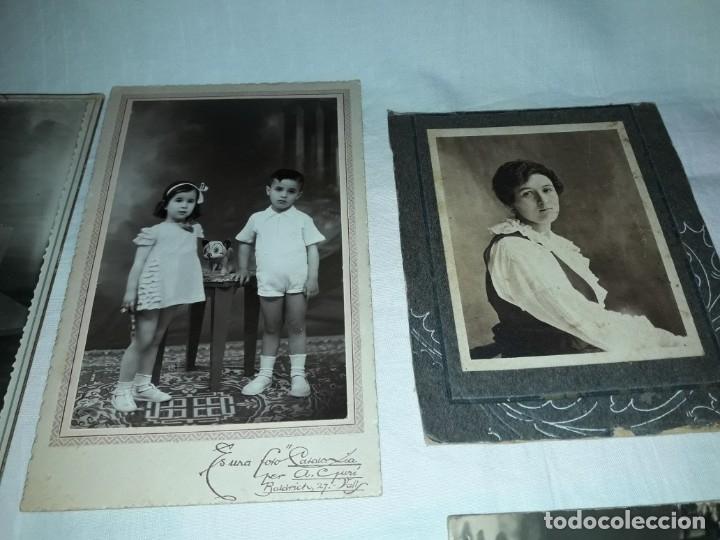 Fotografía antigua: Magnifico lote de 12 antiguas fotografías y Tarjetas Postales - Foto 7 - 178318348
