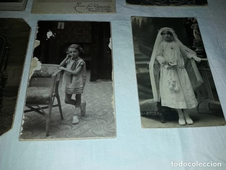 Fotografía antigua: Magnifico lote de 12 antiguas fotografías y Tarjetas Postales - Foto 8 - 178318348
