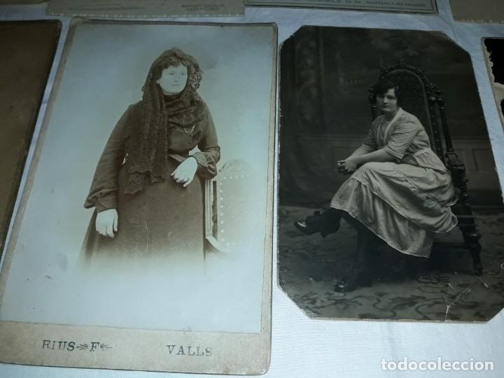 Fotografía antigua: Magnifico lote de 12 antiguas fotografías y Tarjetas Postales - Foto 9 - 178318348
