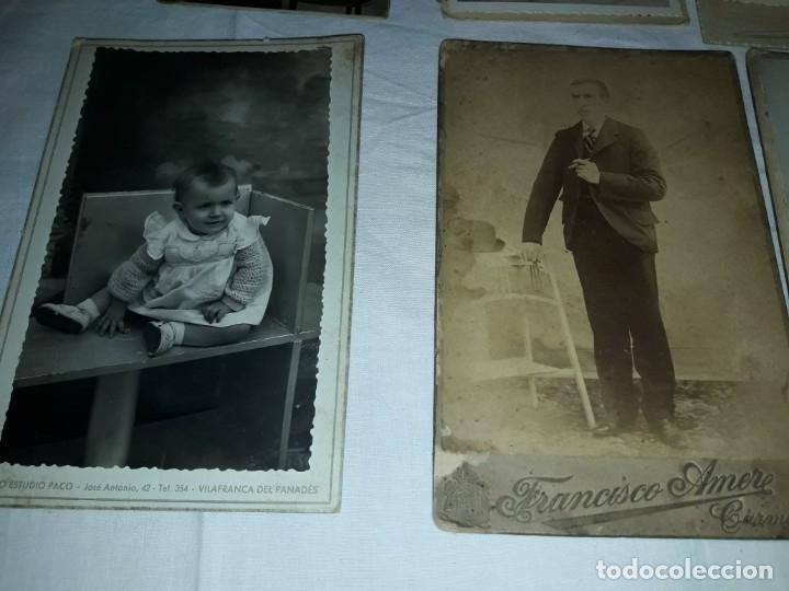 Fotografía antigua: Magnifico lote de 12 antiguas fotografías y Tarjetas Postales - Foto 10 - 178318348