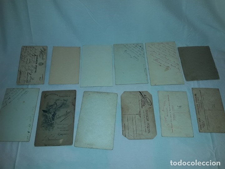 Fotografía antigua: Magnifico lote de 12 antiguas fotografías y Tarjetas Postales - Foto 11 - 178318348