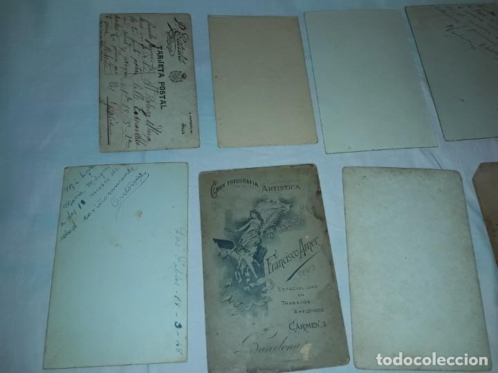 Fotografía antigua: Magnifico lote de 12 antiguas fotografías y Tarjetas Postales - Foto 12 - 178318348