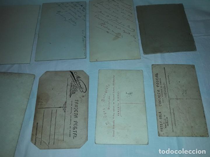 Fotografía antigua: Magnifico lote de 12 antiguas fotografías y Tarjetas Postales - Foto 13 - 178318348