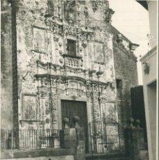 Fotografía antigua: JEREZ DE LOS CABALLEROS- IGLESIA SAN BARTOLOMÉ-PORTADA-FOTOGRÁFICA ÚNICA AÑO 1938- MUY RARA. Lote 178570795