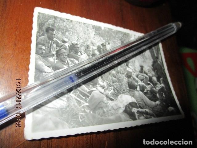 Fotografía antigua: BATALLON LEGION regulares DESCASO ANTES DE OPERACIONES BATALLA DEL EBRO PLENA GUERRA CIVIL I-1939 - Foto 3 - 249597985