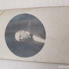 Fotografía antigua: FOTOGRAFÍA SEÑOR. Lote 179397088