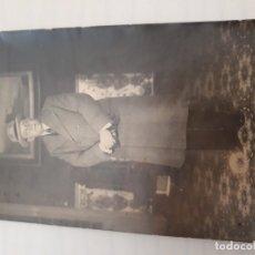 Fotografía antigua: FOTOGRAFIA SEÑOR. Lote 179397166