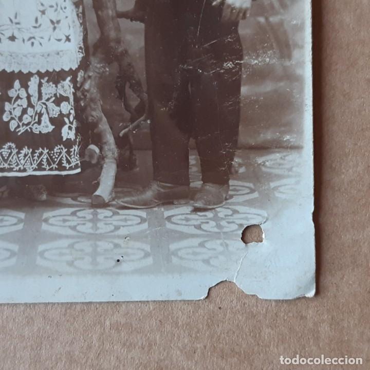 Fotografía antigua: ANTIGUA FOTOGRAFÍA TARJETA POSTAL PAREJA. PRINCIPIOS SIGLO XX? VALENCIA? - Foto 2 - 180013107