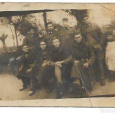 Fotografía antigua: FOTOGRAFIA DE SOLDADOS EN TETUAN AÑO 1926. Lote 180116840