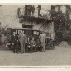 Fotografía antigua: FOTOGRAFIA ANTIGUA COCHE PAIS VASCO . Lote 180124720