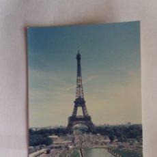 Fotografía antigua: FOTOGRAFIA - FRANCE - PARIS -TORRE EIFFEL. Lote 180864120