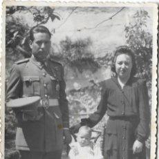 Fotografía antigua: ANTIGUA FOTOGRAFIA FAMILIAR - FOTOGRAFIA CABALLÉ - MATARO 1947. Lote 182218700
