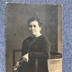 Fotografía antigua: ANTIGUA FOTOGRAFIA 1915 TARJETA POSTAL ROCAS NUMERADA GRAND PRIX EXPO BRUSELAS 1912 8,4X13,2. Lote 182826336