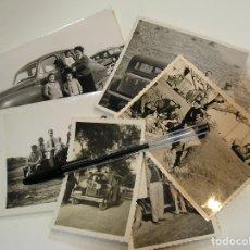 Fotografía antigua: FOTO FOTOGRAFIA COCHE COCHES ANTIGUOS LOTE DE FOTOS (19). Lote 182910591