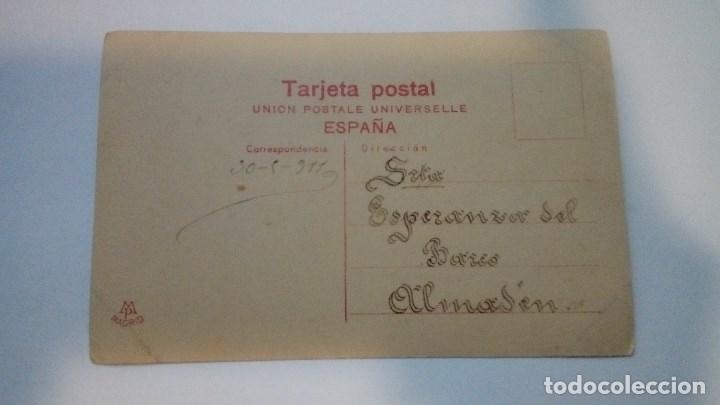 Fotografía antigua: FOTOGRAFIA ANTIGUA MELITA IRIS UNION POSTALE UNIVERSALLE ESPAÑA 1911 CIRCULADA - Foto 2 - 182985498