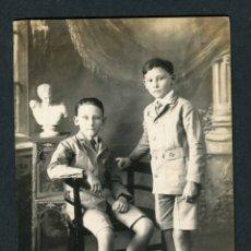 Fotografia antica: FILIPINAS. NIÑOS. F: G. GÓMEZ. LUCENA. MAYABAS. 1920. Lote 183260066