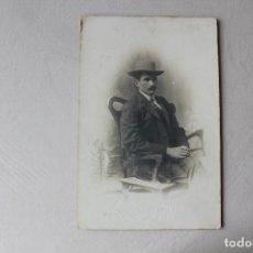 Fotografía antigua: FOTOGRAFIA CABALLERO, POSTAL. Lote 183274852