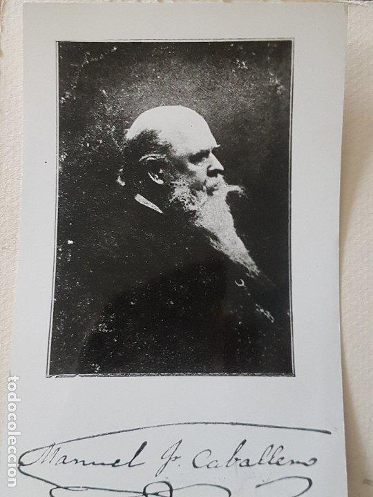 MANUEL FERNANDEZ CABALLERO PALOMEQUE MADRID FORTOGRAFIA (Fotografía Antigua - Tarjeta Postal)