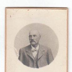 Fotografía antigua: E. BELTRÁN ZARAGOZA. ANTIGUA FOTOGRAFÍA TARJETA POSTAL ELEGANTE CABALLERO 10-20S AA. Lote 183566746