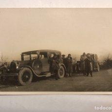 Fotografía antigua: LA VALENCIA QUE FUE.. ALBUMINA FOTOGRAFÍA, CAMINO DE MADRID....,UN ALTO EN EL CAMINO (H.1900?). Lote 184092485