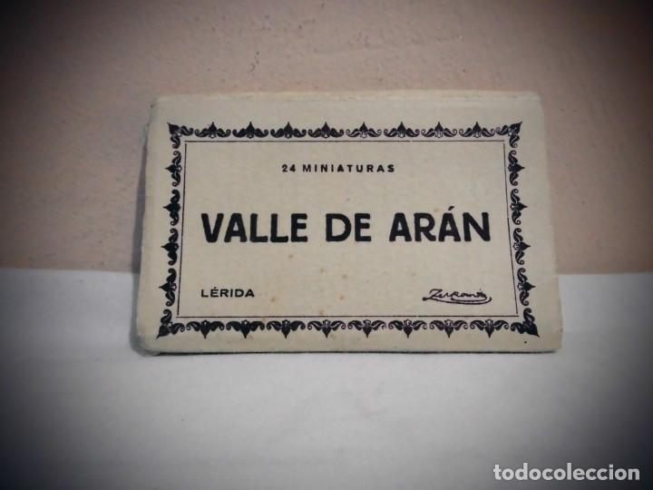 24 MINIATURAS - FOTOGRAFIAS DEL VALLE DE ARAN -LERIDA -TALLERES A . ZERKOWITZ -BCN (Fotografía Antigua - Tarjeta Postal)