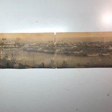 Fotografía antigua: VISTA PANORÁMICA A BARCELONA FOTÓGRAFO ROISIN. Lote 185929728