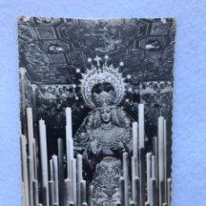 Fotografía antigua: SEMANA SANTA SEVILLA. ANTIGUA POSTAL FOTOGRÁFICA VIRGEN DE LA PALMA, BUEN FIN. Lote 185976412
