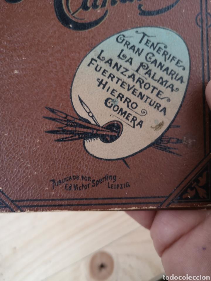 Fotografía antigua: Precioso álbum recuerdo de las Islas Canarias - Foto 2 - 186046271