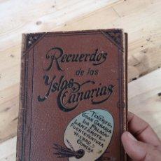 Fotografía antigua: PRECIOSO ÁLBUM RECUERDO DE LAS ISLAS CANARIAS. Lote 186046271