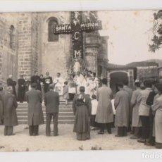 Fotografía antigua: FOTOGRAFÍA. SANTA MISIÓN. FOTO MARUGÁN. AMPUERO. LAREDO. CANTABRIA. Lote 186175552