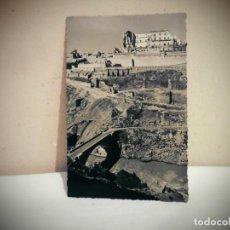 Photographie ancienne: TOLEDO NO 18 -RUINAS DEL ALCAZAR Y PUENTE NUEVO -EFI MADRID. Lote 187480756