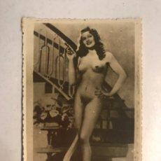 Fotografia antiga: RITA HAYWORTH, POSTAL FOTOGRAFÍCA DE LA ACTRIZ COMPLETAMENTE DESNUDA...UNA RAREZA (H.1940?). Lote 187542651