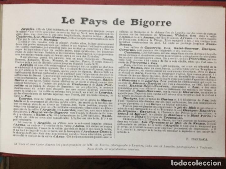 Fotografía antigua: FRANCE-ALBUM - LES PYRENEES - 43 VUES - LOURDES-ARGELES-CAUTERETS… 43 VISTAS DE LOS PIRINEOS - Foto 2 - 190332757