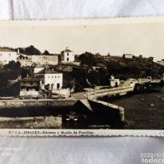 Fotografía antigua: RIBADEO, DÁRSENA Y MUELLE DE PORTILLÀN, POSTAL AÑOS 30, VER. Lote 190520656