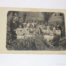 Fotografia antiga: ANTIGUA FOTO POSTAL DE UN GRUPO 1915.. Lote 190816440