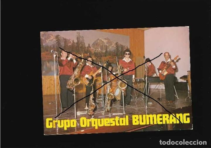 GRUPO MUSICAL ORQUESTA BUMERANG (Fotografía Antigua - Tarjeta Postal)
