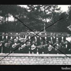 Fotografía antigua: GRUPO MUSICAL RONDALLA ARMONIA AGRUPACION ARTISTICA ARAGONESA . Lote 190896070